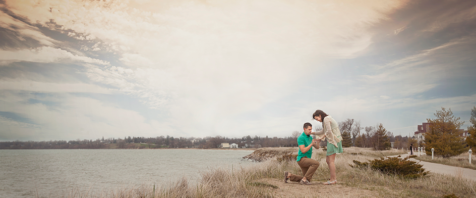 fresh shoot :: tyler & brooke :: sheboygan engagement photography